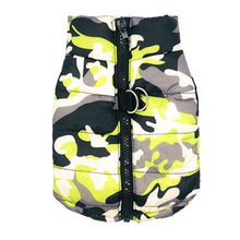 Load image into Gallery viewer, Waterproof Dog Coat Winter Puppy Clothes Camo Pattern Small Dog Jacket Chihuahua Yorkie Clothing