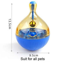 Load image into Gallery viewer, Interactive Pet Toy IQ Treat Ball Smarter Pet Toys Food Ball Food Dispenser For Cats or Dogs Playing Training Balls Pet Supplies