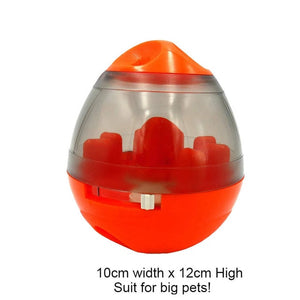 Interactive Pet Toy IQ Treat Ball Smarter Pet Toys Food Ball Food Dispenser For Cats or Dogs Playing Training Balls Pet Supplies