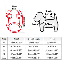 Load image into Gallery viewer, Winter Warm Pet Dog Clothes Hooded Thick Cotton Cat Puppy Dogs Coat Jackets S-XXL