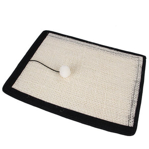 Cat Scratching Post Mat For Cats Natural Sisal Protecting Furniture Foot Chair Protector Pad Climbing Tree