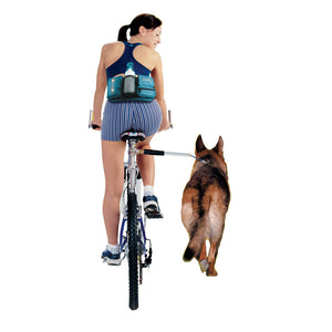 Dog Bicycle Leash Elastic Bicycle Traction Belt Rope Dog Leash Bike Attachment Removable Dog Leashes Dog Walkers