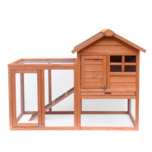 Load image into Gallery viewer, Outdoor Solid Wood Chicken Egg House Chicken Rabbit Cage Bird Pigeon Cage Coop Henhouse