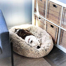 Load image into Gallery viewer, Dog & Cat Long Plush Shag Beds Ultra-Soft Pets Bed Baskets