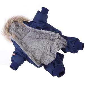 Winter Warm Dog Coat Jacket Waterproof Pet Dog Clothes Fashion for Chihuahua Small Large Dogs