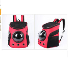 Load image into Gallery viewer, NEW Carrier Dog Cat Space Capsule Shaped Pet Travel Carrying Breathable Shoulder Backpack Outside Travel Portable Bag