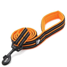 Load image into Gallery viewer, Soft Dog Pet Leash in Harness and Collar Reflective Nylon Mesh Walking Training 11 Colors 200 cm Length Leash TLL2112