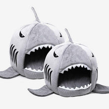 Load image into Gallery viewer, Shark Warm Indoor Kitten Dog Cat Pet Sleeping Sofa Bed Puppy Pet House Mat S/M Size For Dog Cat