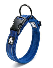 Load image into Gallery viewer, Adjustable Nylon Dog Collars Mesh Padded Reflective Collar For Dog Training Outdoor Comfortable