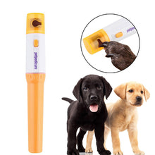 Load image into Gallery viewer, Electric Pet Nail Clipper Pedi Dog Cat Paw Nail Grinder Painless Cutter Pets Trimmer File Kit Grooming Products