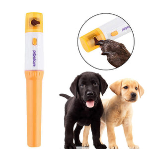 Electric Pet Nail Clipper Pedi Dog Cat Paw Nail Grinder Painless Cutter Pets Trimmer File Kit Grooming Products