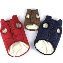 Load image into Gallery viewer, Winter Dog Clothes Pet Coat Clothes Dog Vest Jacket Clothing Windproof Warm Dog Coat for Small Medium Large Dogs XS-3XL
