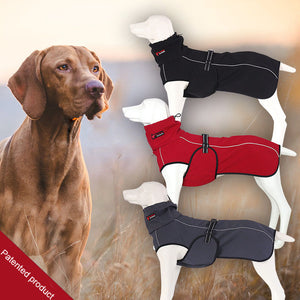 Pet Clothes Jacket For Dog Winter Dog Clothes Red Clothing For Dogs Golden Retriever Waterproof Large Dog Jacket Black