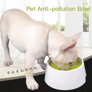 Pet Feeder 1000ml Cat Floating Bowl for Dog Puppy No Wetting Cat Feeding Kitten Drinking Bowl High Quality Plastic Water Feeders
