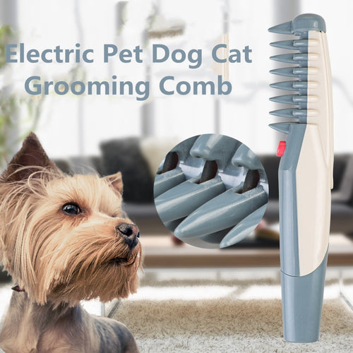 Electric Pet Dog Cat Grooming Comb Dog groomer Pet hair Cuts Tools Scissor Trimmer Cat Hair Beauty Pet Supplies Dog Hair Trimmer