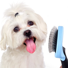 Load image into Gallery viewer, Hair Detangler Brush Comb for Cat Dog Remove Deshedding Trimming Pet Fur Thinning Grooming Tools for Poodle
