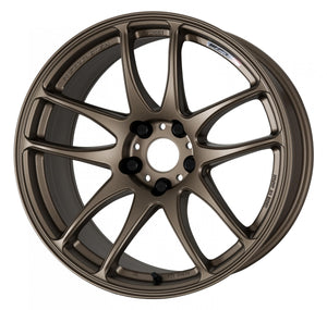 Work Wheels Emotion CR Kiwami (Ultimate) (1P) 18x10.5 +22 5x100 Matte Bronze