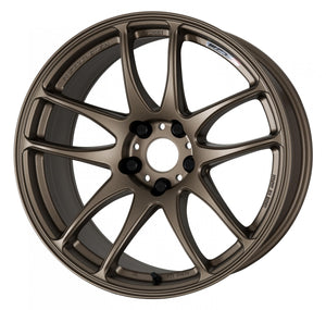 Work Wheels Emotion CR Kiwami (Ultimate) (1P) 18x7.5 +47 5x114.3 Matte Bronze