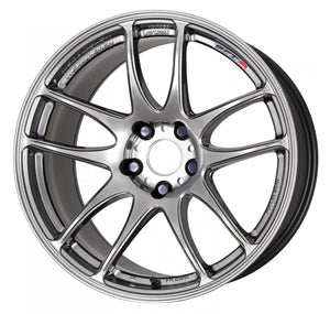 Work Wheels Emotion CR Kiwami (Ultimate) (1P) 17x7.0 +53 5x114.3 GT Silver