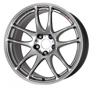 Work Wheels Emotion CR Kiwami (Ultimate) (1P) 17x9.0 +38 5x115 GT Silver