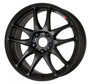 Work Wheels Emotion CR Kiwami (Ultimate) (1P) 18x7.5 +53 5x100 Matte Black