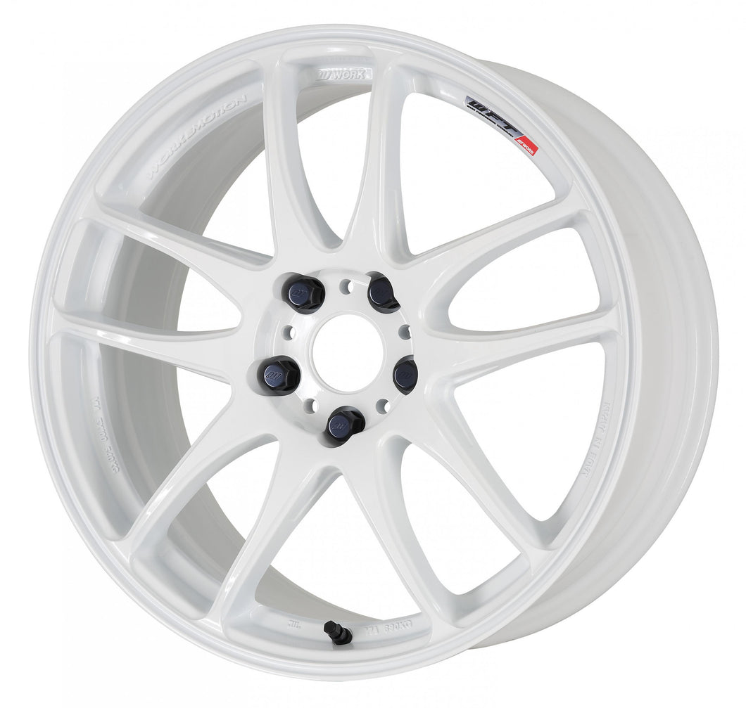 Work Wheels Emotion CR Kiwami (Ultimate) (1P) 19x9.5 +38 5x100 White
