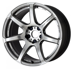 Work Wheels Emotion T7R (1P) 18x8.5 +30 5x114.3 GT Silver