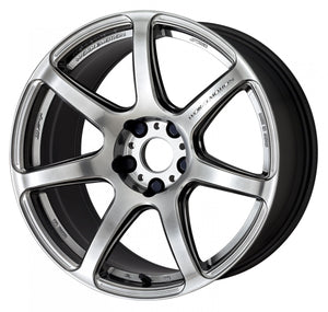 Work Wheels Emotion T7R (1P) 18x8.5 +45 5x114.3 GT SILVER