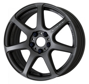 Work Wheels Emotion T7R (1P) 18x9.5 +12 5x114.3 Matte Gunmetal