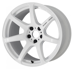 Work Wheels Emotion T7R (1P) 18x8.5 +38 5x114.3 White