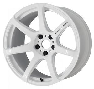 Work Wheels Emotion T7R (1P) 18x8.5 +45 5x114.3 White