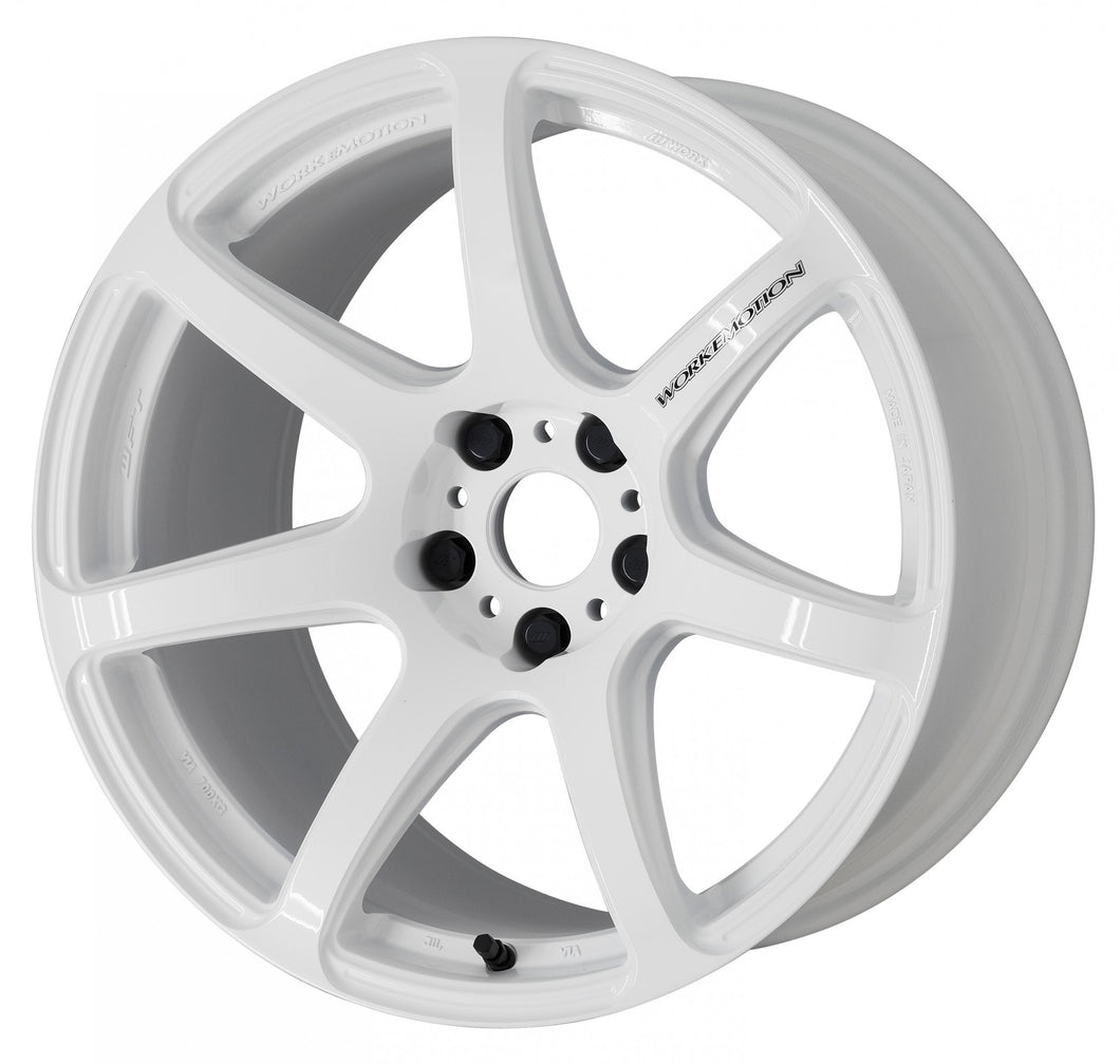 Work Wheels Emotion T7R (1P) 19x9.5 +25 5x114.3 White