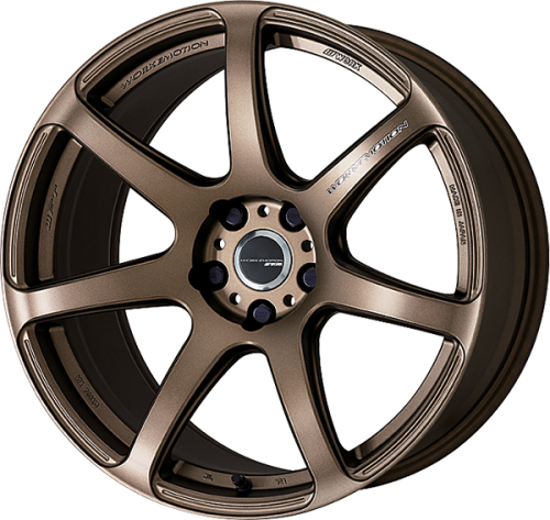 Work Wheels Emotion T7R (1P) 18x10.5 +12 5x114.3 Matte Bronze