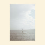 Sailboat Alone At Sea | Print