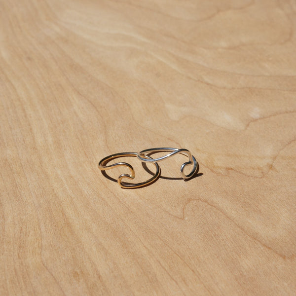 Wave Ring | Gold or Silver