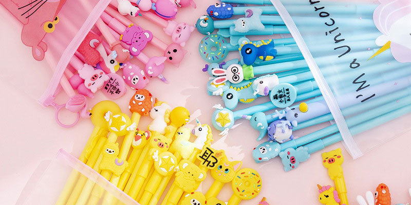 7 Kawaii Pens That Will Inspire your School Life