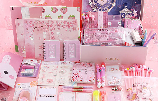 10 Kawaii School Office Supplies That Inspired By Japanese Culture