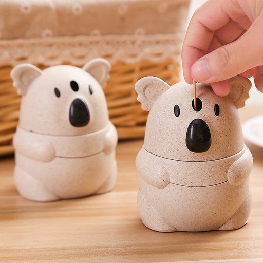 Aesthetic Cartoon Koala Toothpick Holder