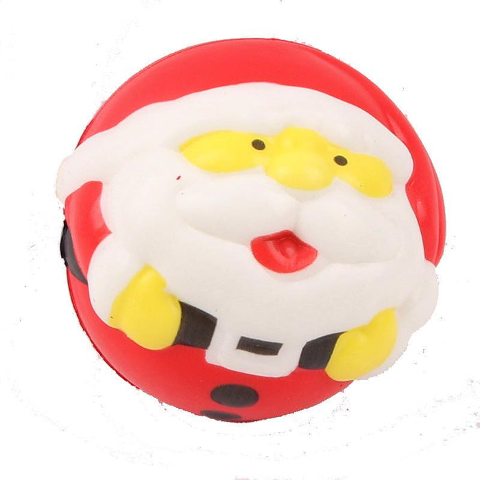 Silly Squishy - Slow flash back color print Santa Claus Squishy