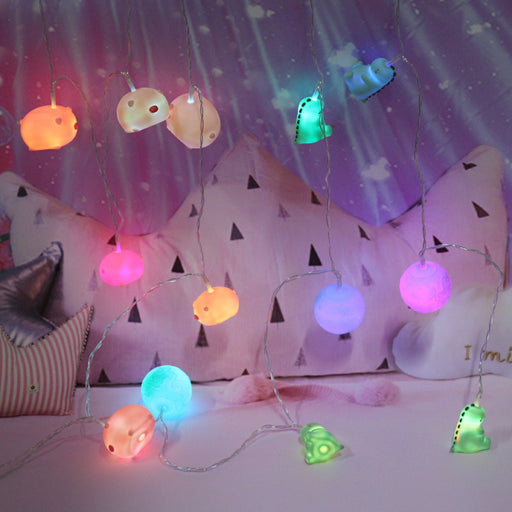 Stars Lights Lanterns Ins Small Bulb Net Red Lights Christmas Decoration String Table Lamp ~ Table Ornaments