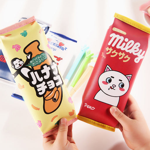 Kawaii Korean Japanese Brown Bear Cartoon Creative Pencil Pen Pouch