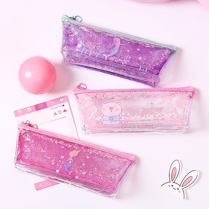 Sequin Pencil Case