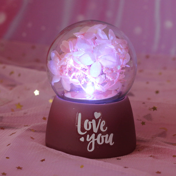 Home Birthday Gift Flower Wish Night Light Decorative Decoration Table Lamp ~ Table Ornaments