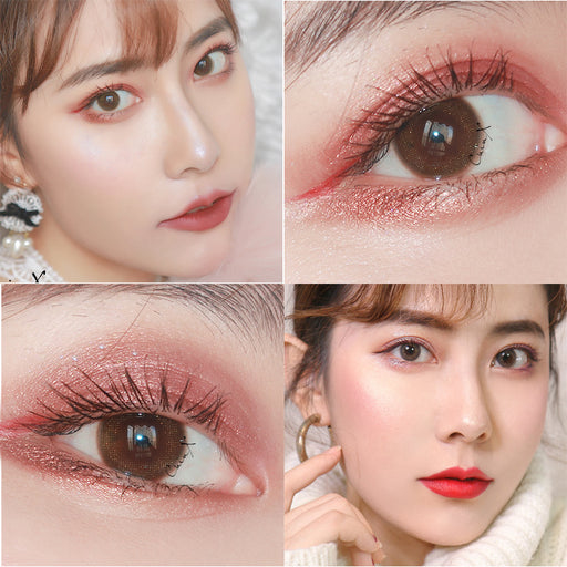 Kawaii  Japanese  Korean Makeup Sukarna Slimming Starry Sky Mascara / Waterproof Slimming Curling Thick Mascara