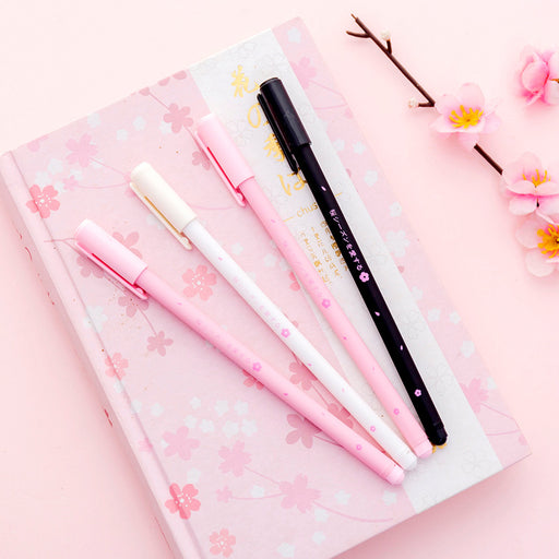 Kawaii  Japanese  Korean  Beautiful cherry blossom gel pen