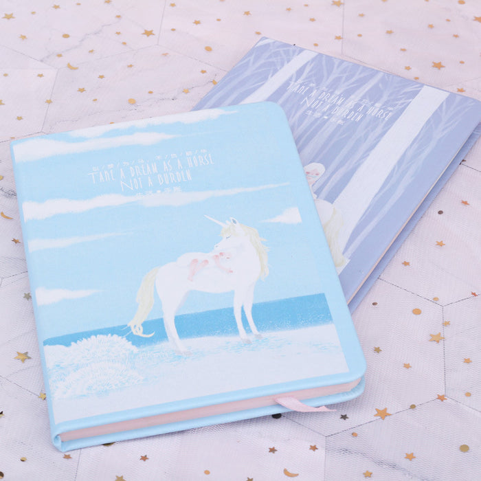Diary Fantasy Unicorn Cartoon Notepad Student Stationery School Supplies Gift Notebook Journal
