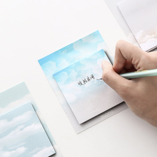 Kawaii  Japanese  Korean  Cloudy Sky Sticky Notes