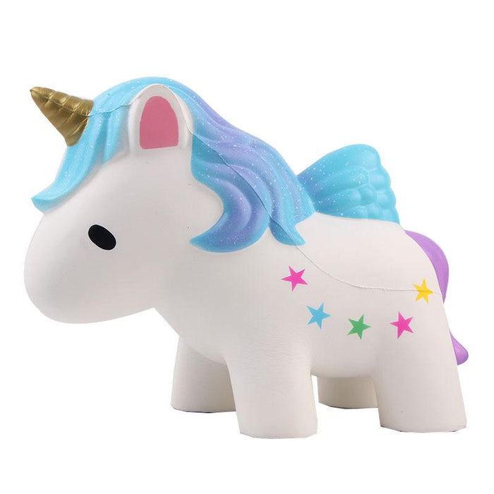 Silly Squishy - Kawaii Korean Japanese Rebound Unicorn Color Matt Extra Large Squishy