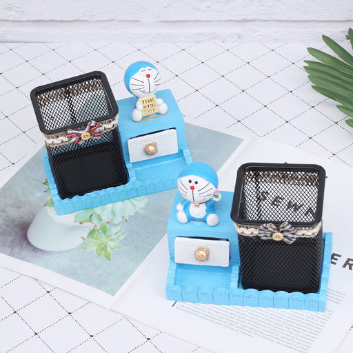 Decoration Business Gift Crafts My Neighbor Totoro Business Card Pen Holder