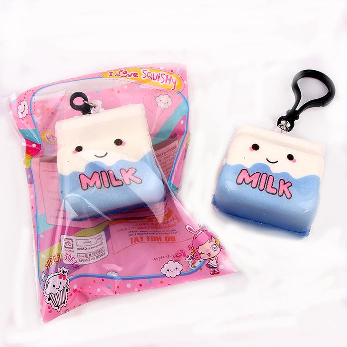 Silly Squishy - Slow bounce back color printed milk carton Squishy
